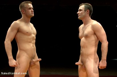 """Photo number 15 from Cameron """"The Kin-Killer-Cade"""" vs Connor """"The Pulverizer"""" Patricks  shot for nakedkombat on Kink.com. Featuring Connor Patricks and Cameron Kincade in hardcore BDSM & Fetish porn."""