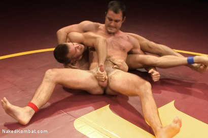 """Photo number 8 from Cameron """"The Kin-Killer-Cade"""" vs Connor """"The Pulverizer"""" Patricks  shot for nakedkombat on Kink.com. Featuring Connor Patricks and Cameron Kincade in hardcore BDSM & Fetish porn."""