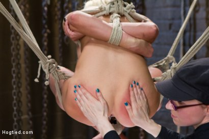 Photo number 8 from DyNaMiTe - Katie Summers Brings It - LIVE shot for Hogtied on Kink.com. Featuring Katie Summers in hardcore BDSM & Fetish porn.