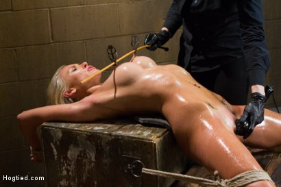 Photo number 10 from DyNaMiTe - Katie Summers Brings It - LIVE shot for Hogtied on Kink.com. Featuring Katie Summers in hardcore BDSM & Fetish porn.
