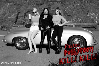 Photo number 15 from ******BONUS******* FULL FOOT WORSHIP FEATURE! Faster Pussyfoot Kill! Kill! shot for Divine Bitches on Kink.com. Featuring Lorelei Lee, Missy Minks, Lea Lexis, Mahina Zaltana and Lance Hart in hardcore BDSM & Fetish porn.