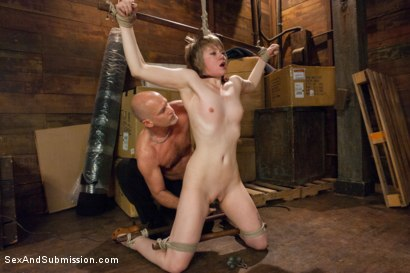 Photo number 4 from Daughter's Best Friend Sexually Dominated! shot for Sex And Submission on Kink.com. Featuring Mark Davis and Alani Pi in hardcore BDSM & Fetish porn.