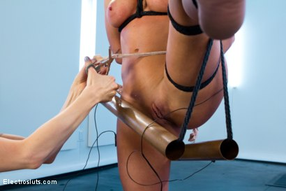 Photo number 3 from Ariel X is BACK!! shot for Electro Sluts on Kink.com. Featuring Lorelei Lee and Ariel X in hardcore BDSM & Fetish porn.