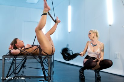 Photo number 3 from Ariel X Attempts a Fist Size ElectroPlug in her Ass! shot for Electro Sluts on Kink.com. Featuring Lorelei Lee and Ariel X in hardcore BDSM & Fetish porn.