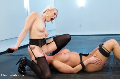 """Photo number 11 from Ariel X is Pushed to the Limit and Cries """"Mercy""""!! shot for Electro Sluts on Kink.com. Featuring Lorelei Lee and Ariel X in hardcore BDSM & Fetish porn."""