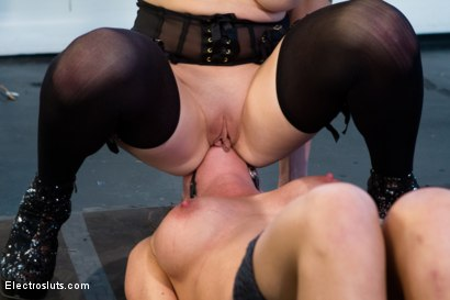 """Photo number 7 from Ariel X is Pushed to the Limit and Cries """"Mercy""""!! shot for Electro Sluts on Kink.com. Featuring Lorelei Lee and Ariel X in hardcore BDSM & Fetish porn."""