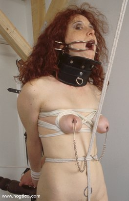Photo number 4 from Lyssa shot for Hogtied on Kink.com. Featuring Lyssa in hardcore BDSM & Fetish porn.