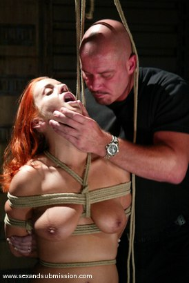 Photo number 8 from Mark Davis and Gabriella Banks shot for Sex And Submission on Kink.com. Featuring Mark Davis and Gabriella Banks in hardcore BDSM & Fetish porn.