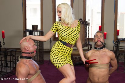Photo number 4 from Lorelei Lee's Slave Competition shot for Divine Bitches on Kink.com. Featuring Lorelei Lee, Jesse Carl, Connor Patricks and Chad Rock in hardcore BDSM & Fetish porn.