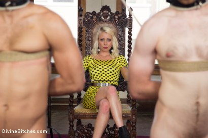 Photo number 1 from Lorelei Lee's Slave Competition shot for Divine Bitches on Kink.com. Featuring Lorelei Lee, Jesse Carl, Connor Patricks and Chad Rock in hardcore BDSM & Fetish porn.