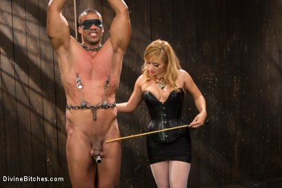 Photo number 4 from Romanian Princess Lea Lexis shot for Divine Bitches on Kink.com. Featuring Lea Lexis and Robert Axel in hardcore BDSM & Fetish porn.