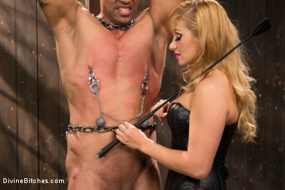 Photo number 3 from Romanian Princess Lea Lexis shot for Divine Bitches on Kink.com. Featuring Lea Lexis and Robert Axel in hardcore BDSM & Fetish porn.