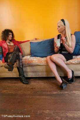 Photo number 1 from Step Mommy has a COCK: Bratty New Daughter Finds out the Hard Way shot for TS Pussy Hunters on Kink.com. Featuring Joanna Jet and Bianca Stone in hardcore BDSM & Fetish porn.