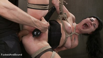 Photo number 13 from Damsel Dilemma  shot for Fucked and Bound on Kink.com. Featuring Siouxsie Q and Owen Gray in hardcore BDSM & Fetish porn.