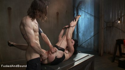 Photo number 14 from Damsel Dilemma  shot for Fucked and Bound on Kink.com. Featuring Siouxsie Q and Owen Gray in hardcore BDSM & Fetish porn.