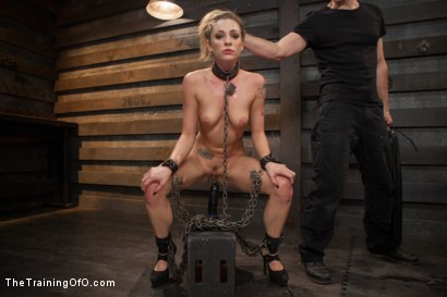 Photo number 9 from Training a Slut Girl to Fuck Better, Day One shot for The Training Of O on Kink.com. Featuring Dahlia Sky in hardcore BDSM & Fetish porn.