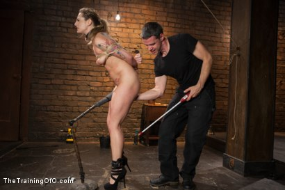 Photo number 12 from Training a Slut Girl to Fuck Better, Day One shot for The Training Of O on Kink.com. Featuring Dahlia Sky in hardcore BDSM & Fetish porn.