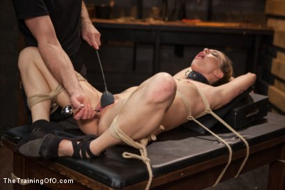 Photo number 14 from Training a Slut Girl to Fuck Better, Day One shot for The Training Of O on Kink.com. Featuring Dahlia Sky in hardcore BDSM & Fetish porn.