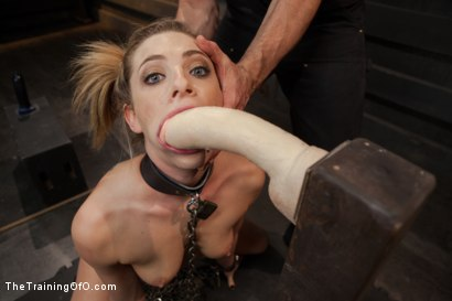 Photo number 6 from Training a Slut Girl to Fuck Better, Day One shot for The Training Of O on Kink.com. Featuring Dahlia Sky in hardcore BDSM & Fetish porn.