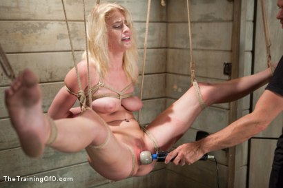 Photo number 9 from The Making of a Perfect Little Slut, Day One shot for The Training Of O on Kink.com. Featuring Allie James in hardcore BDSM & Fetish porn.