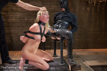 Photo number 6 from The Making of a Perfect Little Slut, Day Two shot for The Training Of O on Kink.com. Featuring Allie James and Owen Gray in hardcore BDSM & Fetish porn.