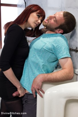Photo number 5 from FemDom Predator shot for Divine Bitches on Kink.com. Featuring Maitresse Madeline Marlowe and Jesse Carl in hardcore BDSM & Fetish porn.