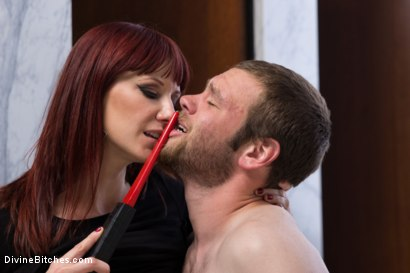 Photo number 2 from FemDom Predator shot for Divine Bitches on Kink.com. Featuring Maitresse Madeline Marlowe and Jesse Carl in hardcore BDSM & Fetish porn.