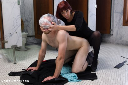 Photo number 15 from FemDom Predator shot for Divine Bitches on Kink.com. Featuring Maitresse Madeline Marlowe and Jesse Carl in hardcore BDSM & Fetish porn.