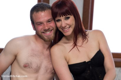 Photo number 9 from FemDom Predator shot for Divine Bitches on Kink.com. Featuring Maitresse Madeline Marlowe  and Jesse Carl in hardcore BDSM & Fetish porn.