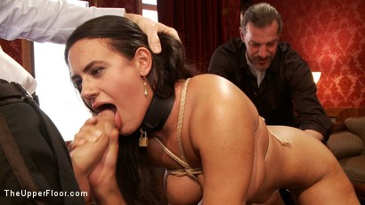Photo number 8 from Smart Ass Anal Slave Girl Gets an Attitude Adjustment shot for The Upper Floor on Kink.com. Featuring Penny Barber and Owen Gray in hardcore BDSM & Fetish porn.