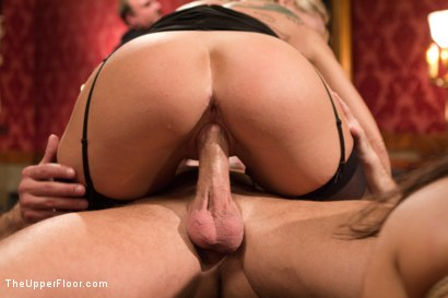 Photo number 9 from Anal Slave Meets the Household, and a Gorgeous Guest is Ass Fucked shot for The Upper Floor on Kink.com. Featuring Penny Barber, Bill Bailey and Simone Sonay in hardcore BDSM & Fetish porn.