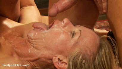 Photo number 15 from Anal Slave Meets the Household, and a Gorgeous Guest is Ass Fucked shot for The Upper Floor on Kink.com. Featuring Penny Barber, Bill Bailey and Simone Sonay in hardcore BDSM & Fetish porn.