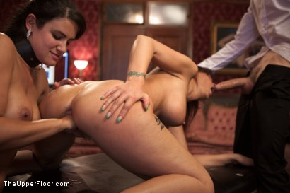 Photo number 10 from MILF Ass Slut Syren de Mer is Under the House Slave's Thumb shot for The Upper Floor on Kink.com. Featuring Penny Barber, Owen Gray and Syren de Mer in hardcore BDSM & Fetish porn.