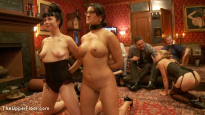 Photo number 10 from Anal Slave Barks to Come while House Slave Earns Her Leathers shot for The Upper Floor on Kink.com. Featuring Penny Barber, Danny Wylde, Pink and Claire Robbins in hardcore BDSM & Fetish porn.