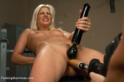 Photo number 3 from She's a Maniac a Maniac on the MACHINES: French BABE 40 Orgasms DEEP shot for Fucking Machines on Kink.com. Featuring Jessie Volt in hardcore BDSM & Fetish porn.
