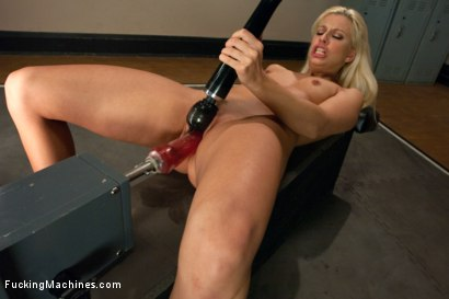 Photo number 2 from She's a Maniac a Maniac on the MACHINES: French BABE 40 Orgasms DEEP shot for Fucking Machines on Kink.com. Featuring Jessie Volt in hardcore BDSM & Fetish porn.
