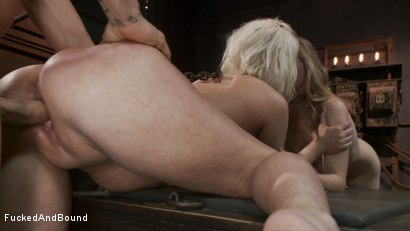 Photo number 13 from Captive Companions shot for Fucked and Bound on Kink.com. Featuring Derrick Pierce, Penny Pax and Cherry Torn in hardcore BDSM & Fetish porn.