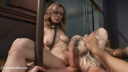 Photo number 15 from Captive Companions shot for Fucked and Bound on Kink.com. Featuring Derrick Pierce, Penny Pax and Cherry Torn in hardcore BDSM & Fetish porn.