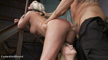 Photo number 5 from Captive Companions shot for Fucked and Bound on Kink.com. Featuring Derrick Pierce, Penny Pax and Cherry Torn in hardcore BDSM & Fetish porn.