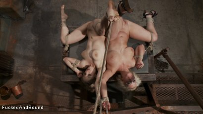 Photo number 6 from Captive Companions shot for Fucked and Bound on Kink.com. Featuring Derrick Pierce, Penny Pax and Cherry Torn in hardcore BDSM & Fetish porn.