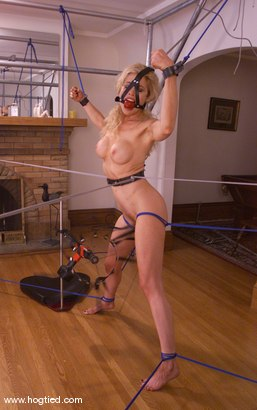 Photo number 9 from Sadie Belle shot for Hogtied on Kink.com. Featuring Sadie Belle in hardcore BDSM & Fetish porn.