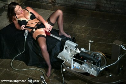 Photo number 2 from Sara Stone shot for Fucking Machines on Kink.com. Featuring Sara Stone in hardcore BDSM & Fetish porn.