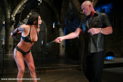 Photo number 3 from Mark Davis and Jenaveve Jolie shot for Sex And Submission on Kink.com. Featuring Mark Davis and Jenaveve Jolie in hardcore BDSM & Fetish porn.