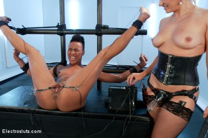 Photo number 14 from Nikki Darling Spread Wide and Electro Fucked! shot for Electro Sluts on Kink.com. Featuring Lea Lexis and Nikki Darling in hardcore BDSM & Fetish porn.