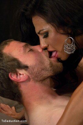 Photo number 12 from Year 2113: Black Market Sex Droids - Women with Cocks in High Demand shot for TS Seduction on Kink.com. Featuring Jesse Carl and Jaquelin Braxton in hardcore BDSM & Fetish porn.
