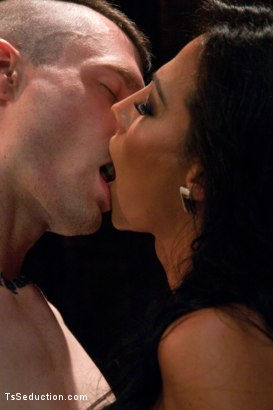 Photo number 8 from Serving Your Ass to Her Cock to Spring Yourself from Jail shot for TS Seduction on Kink.com. Featuring Mike Panic and Jaquelin Braxton in hardcore BDSM & Fetish porn.