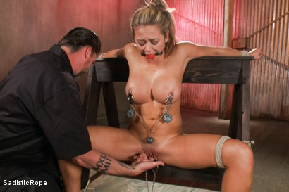 Photo number 13 from Brutality Overload shot for Sadistic Rope on Kink.com. Featuring Mia Lelani in hardcore BDSM & Fetish porn.