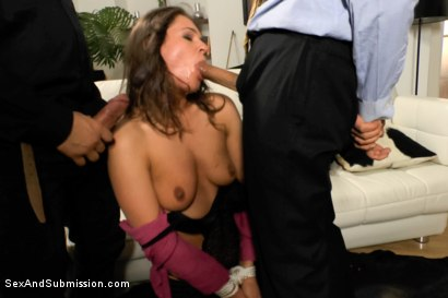 Photo number 5 from Helpless in Russia: Rough Sex Fantasy Role Play shot for Sex And Submission on Kink.com. Featuring Savannah Secret, Steve Holmes and Omar Galanti in hardcore BDSM & Fetish porn.