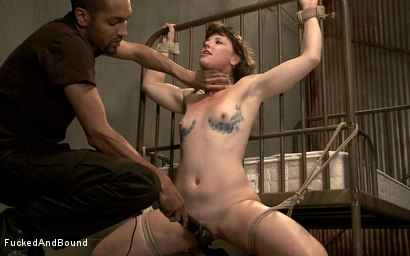 Photo number 14 from First Timer Takes Cock Like a Pro shot for  on Kink.com. Featuring Mickey Mod and Sahara Rain in hardcore BDSM & Fetish porn.