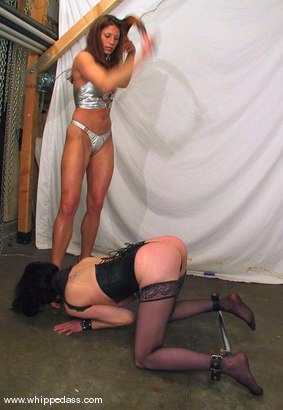 Photo number 4 from Kym Wilde and Lily shot for Whipped Ass on Kink.com. Featuring Kym Wilde and Lily in hardcore BDSM & Fetish porn.